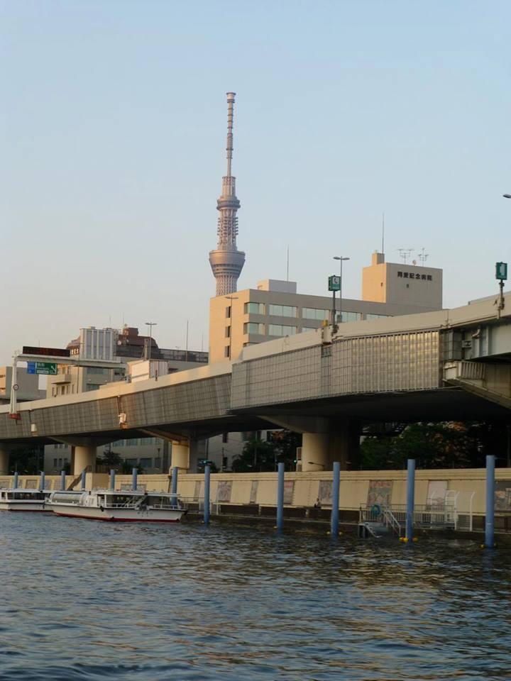 日の出 ~ 浅草 水上バスで隅田川クルーズ♪_c0100865_4554747.jpg