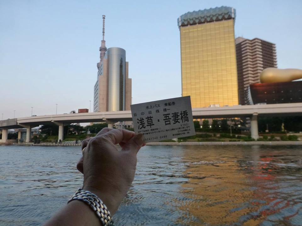 日の出 ~ 浅草 水上バスで隅田川クルーズ♪_c0100865_4575630.jpg