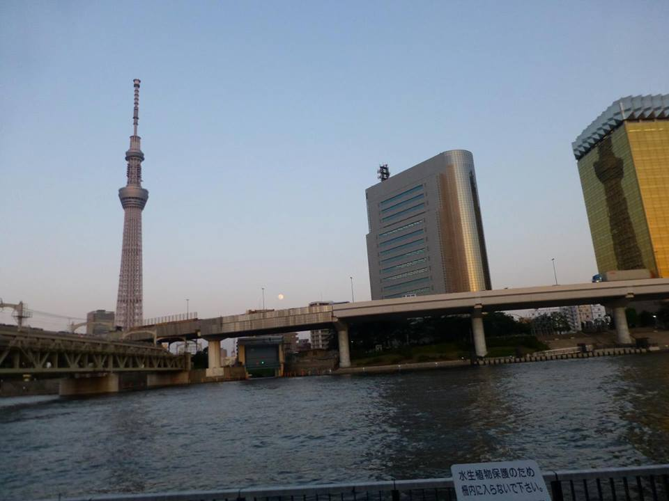 日の出 ~ 浅草 水上バスで隅田川クルーズ♪_c0100865_458474.jpg