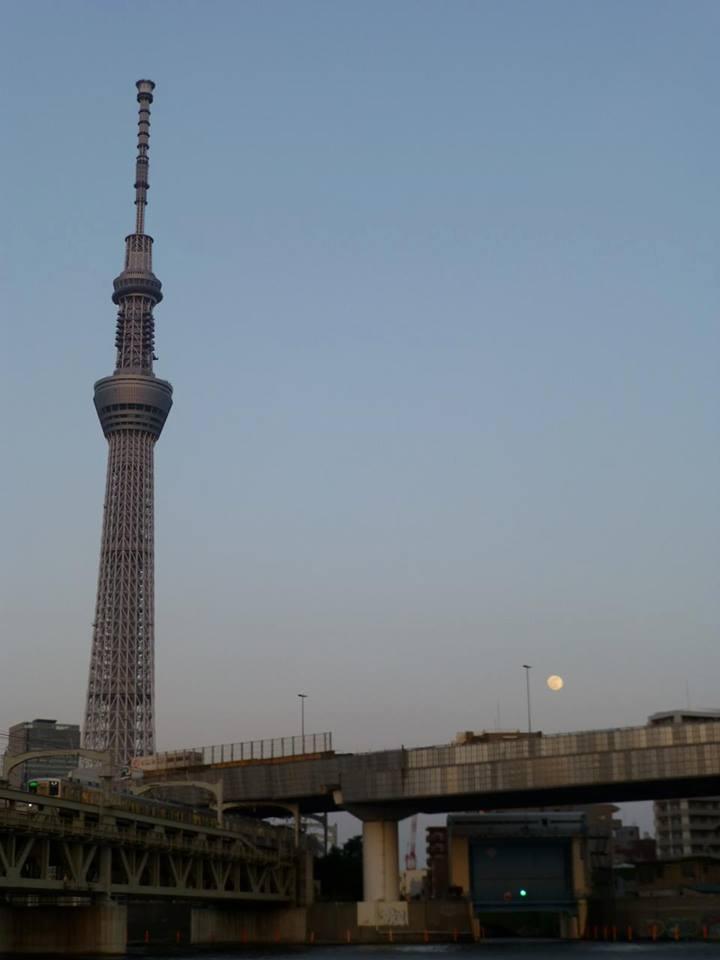 日の出 ~ 浅草 水上バスで隅田川クルーズ♪_c0100865_4592133.jpg