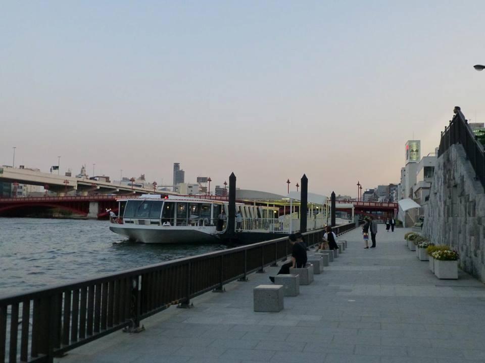 日の出 ~ 浅草 水上バスで隅田川クルーズ♪_c0100865_502438.jpg