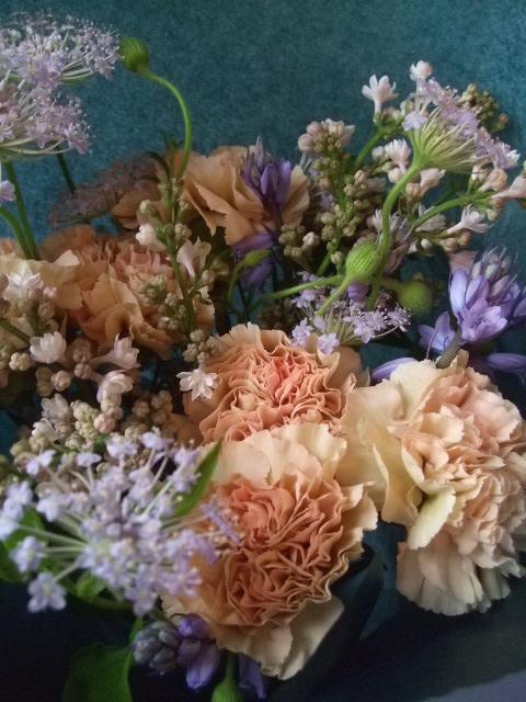オークリーフ(母の日に贈る花束)_f0049672_13273223.jpg