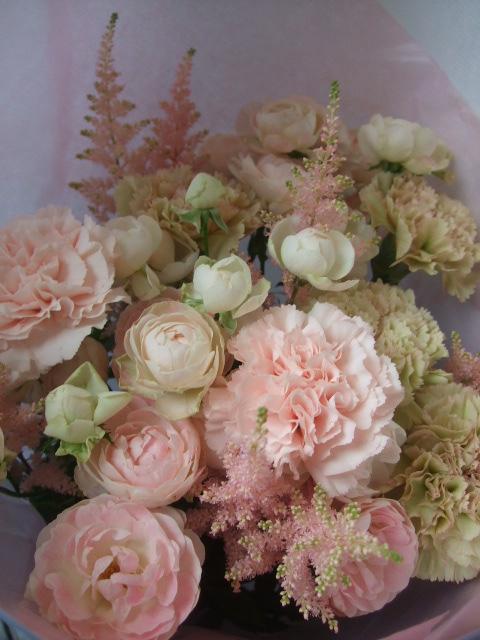 オークリーフ(母の日に贈る花束)_f0049672_13281321.jpg
