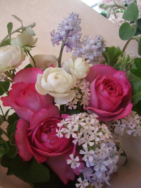 オークリーフ(母の日に贈る花束)_f0049672_13321072.jpg