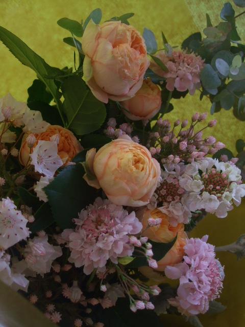 オークリーフ(母の日に贈る花束)_f0049672_13322040.jpg