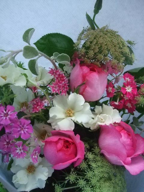 オークリーフ(母の日に贈る花束)_f0049672_1332274.jpg