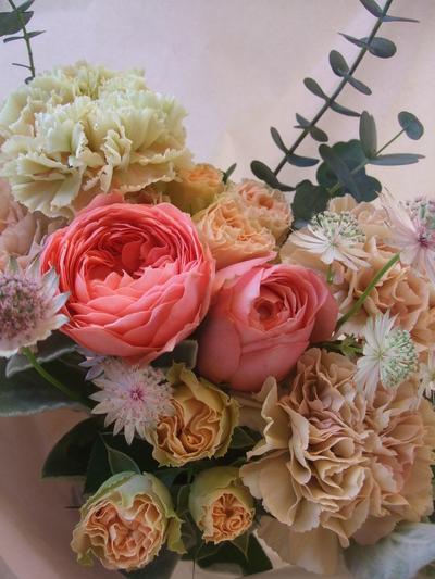 オークリーフ(母の日に贈る花束)_f0049672_13324181.jpg