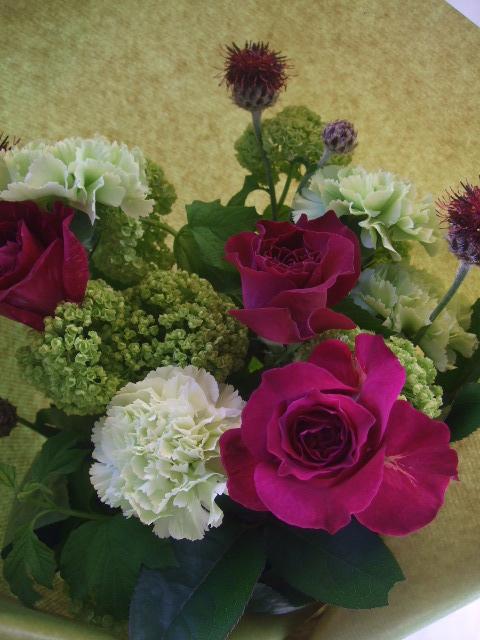 オークリーフ(母の日に贈る花束)_f0049672_13325043.jpg