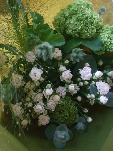 オークリーフ(母の日に贈る花束)_f0049672_13331883.jpg