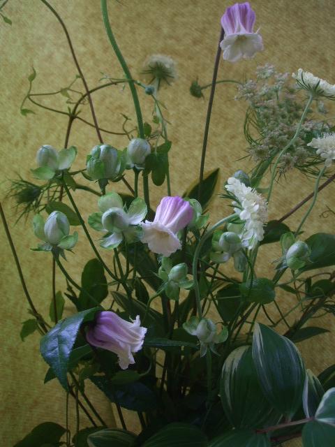オークリーフ(母の日に贈る花束)_f0049672_13332775.jpg