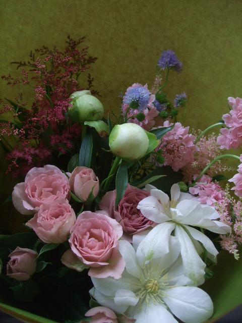 オークリーフ(母の日に贈る花束)_f0049672_13333957.jpg