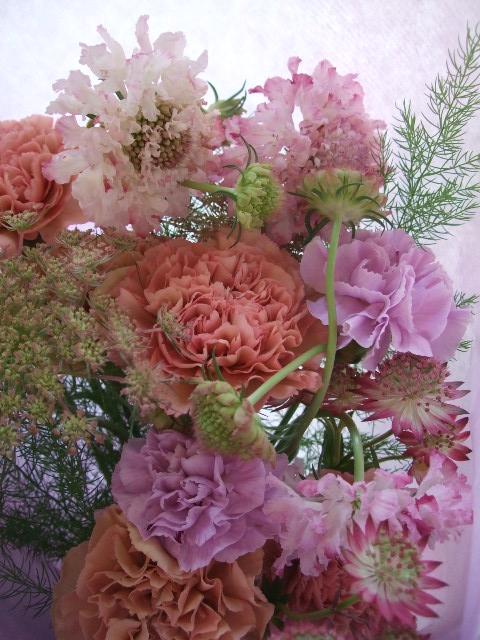 オークリーフ(母の日に贈る花束)_f0049672_14111172.jpg