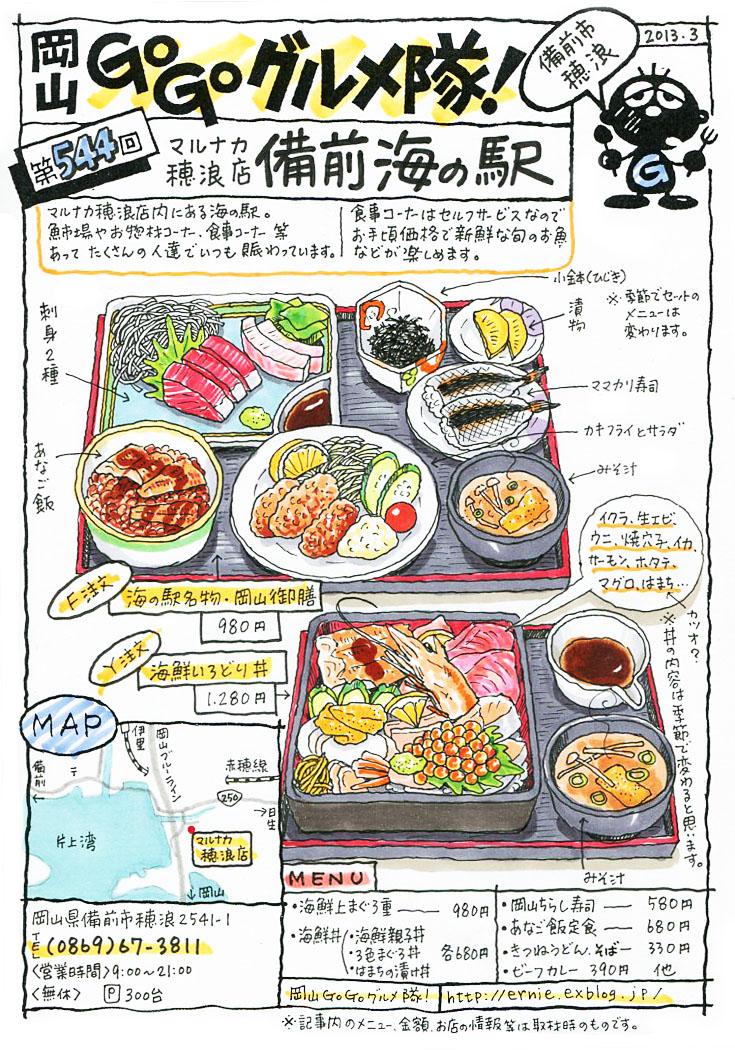 マルナカ穂浪店・備前海の駅_d0118987_20345012.jpg