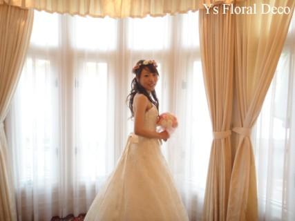 ピンク系の花冠 大阪へ_b0113510_10352129.jpg