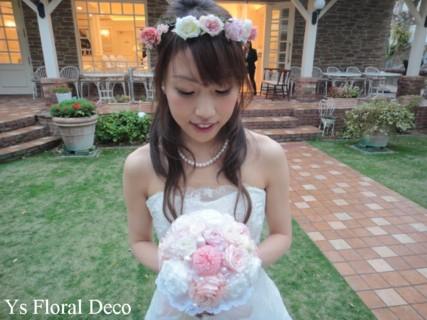 ピンク系の花冠 大阪へ_b0113510_10355757.jpg