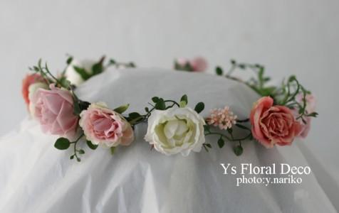ピンク系の花冠 大阪へ_b0113510_10361355.jpg