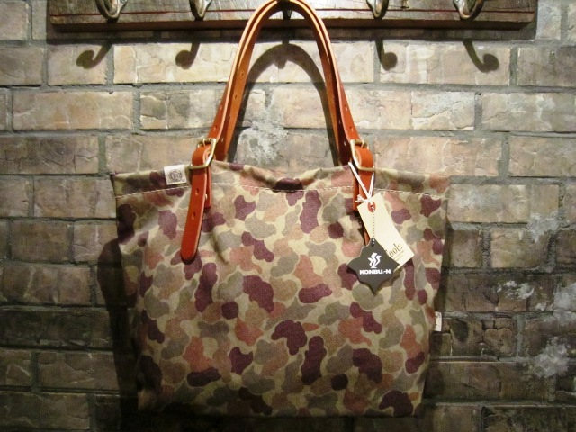 "SLOW ""KONBU TOTE BAG\"" DUCK CAMO ご紹介_f0191324_10134338.jpg"