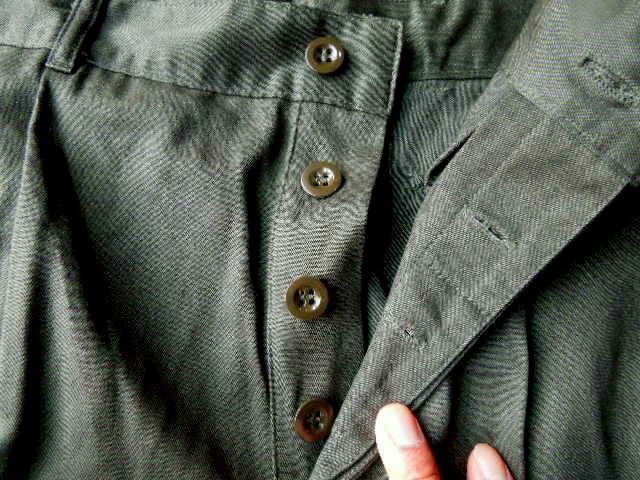 Dutch army OD shorts dead stock_f0226051_12365823.jpg