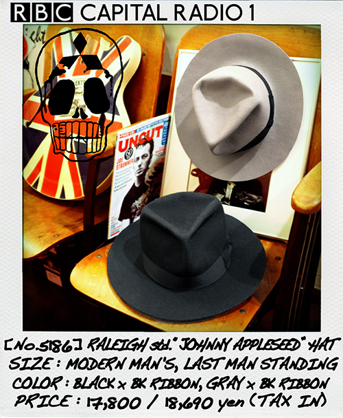 "RALEIGH std. ""JOHNNY APPLESEED"" HAT _e0325662_17353393.jpg"