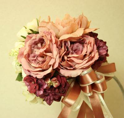 アーティフィシャルフラワー(造花)の2way  ブーケ♫_e0149863_13125260.jpg