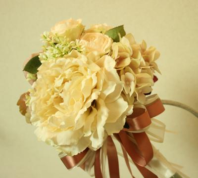 アーティフィシャルフラワー(造花)の2way  ブーケ♫_e0149863_1352781.jpg