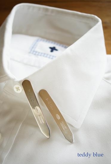 Tiffany & Co. collar stays  ティファニーのカラーステイ_e0253364_1350324.jpg