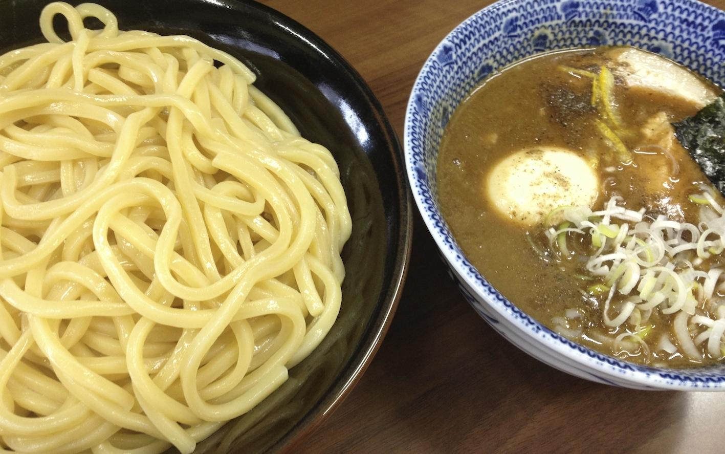僕はひさしぶりにつけ麺を食べたんだ。_b0199365_18344447.jpg