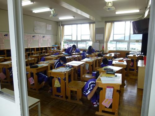 保育園と中学校の合同防災訓練を行いました!_c0238069_94124100.jpg