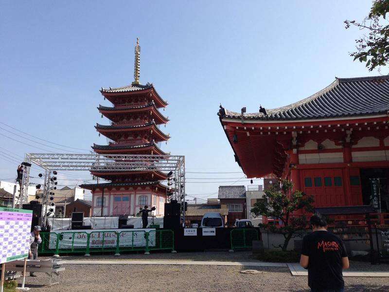 津観音縁日祭に参加させて頂きました。_f0173971_0182161.jpg