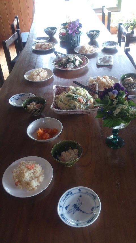 米山ガーデンのお料理教室。_d0182179_1631465.jpg