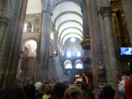 スペイン サンティアゴ・デ・コンポステーラシリーズ ボタフメイロの儀式を見る_b0011584_12585577.jpg