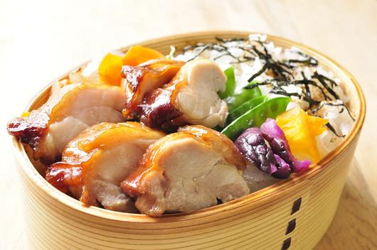 レンジでチキン&たっぷり野菜弁当_b0171098_6434592.jpg