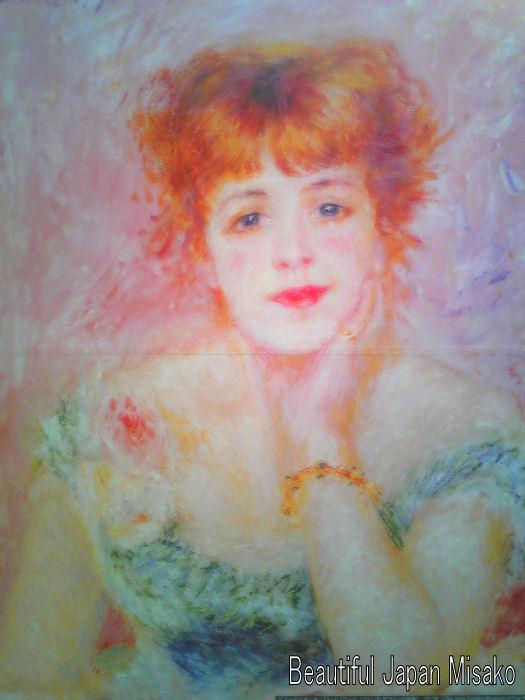 プーシキン美術館展 名古屋 『 ジャンヌ・サマリーの肖像 』 ルノワール_c0067206_1023301.jpg