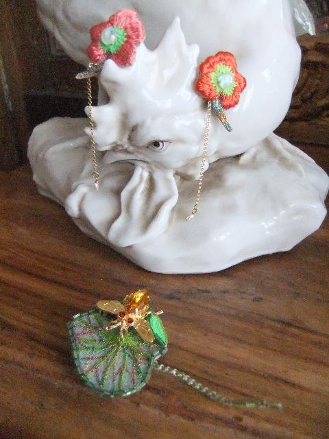 Rika OGASAWARA  Exposition des bijoux chez *The Lace Center harajuku * _b0117913_9571136.jpg