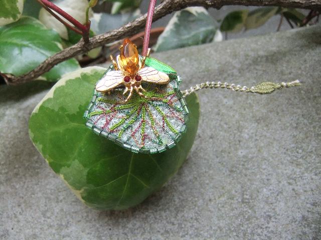 Rika OGASAWARA  Exposition des bijoux chez *The Lace Center harajuku * _b0117913_958214.jpg