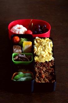 女子中学生のお弁当 68 寝過ごしと冷凍食品_b0048834_17264233.jpg