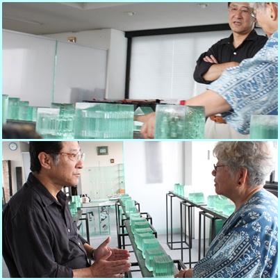 林孝子さんの硝子工房を訪ねて_e0241944_22513793.jpg