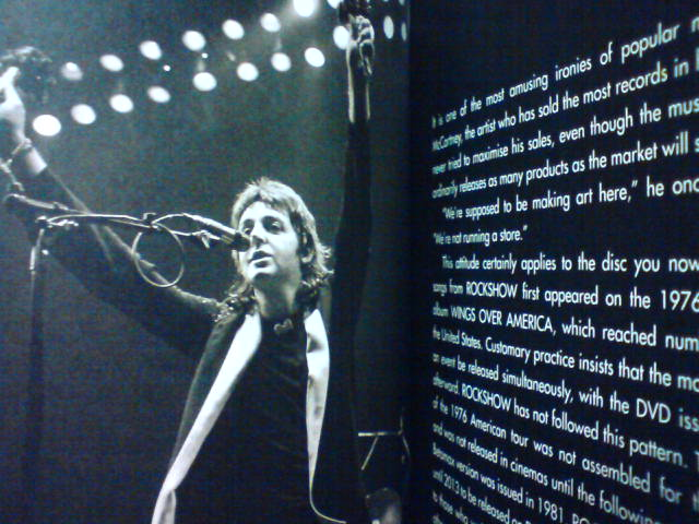 本日到着DVD 〜 ROCKSHOW / Paul McCartney And Wings_c0104445_21274575.jpg