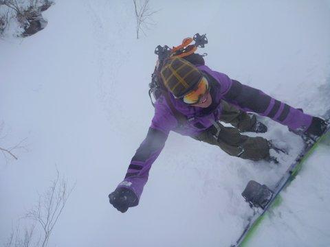 【滑走レポ 2013.4.22】 4月下旬の新雪に道中ドキドキ(笑)@かぐら_e0037849_915416.jpg