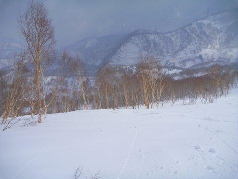 【滑走レポ 2013.4.22】 4月下旬の新雪に道中ドキドキ(笑)@かぐら_e0037849_973386.jpg
