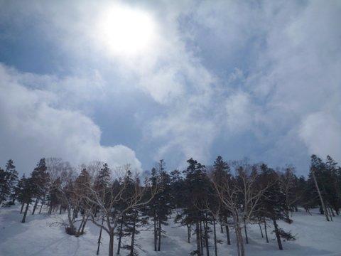 【滑走レポ 2013.4.22】 4月下旬の新雪に道中ドキドキ(笑)@かぐら_e0037849_98623.jpg