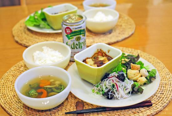 5月30日 木曜日 のりべん&高野豆腐のカレーグラタン_b0288550_1139213.jpg