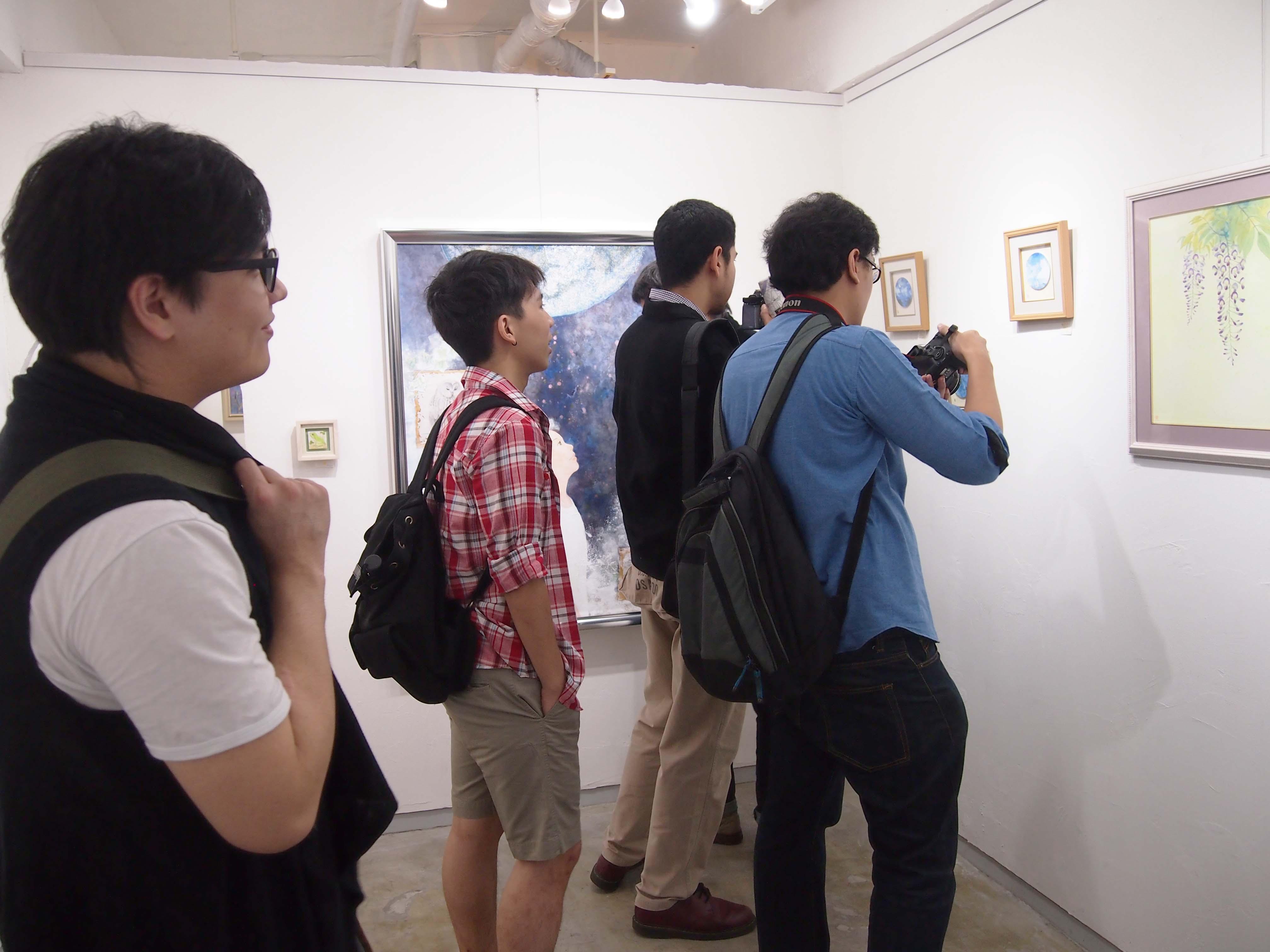 染谷麻衣子展「いつものいっしゅん」@7日目_e0272050_17303132.jpg