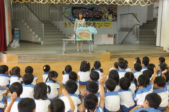 幼稚園でお話し会_e0272869_2027047.jpg