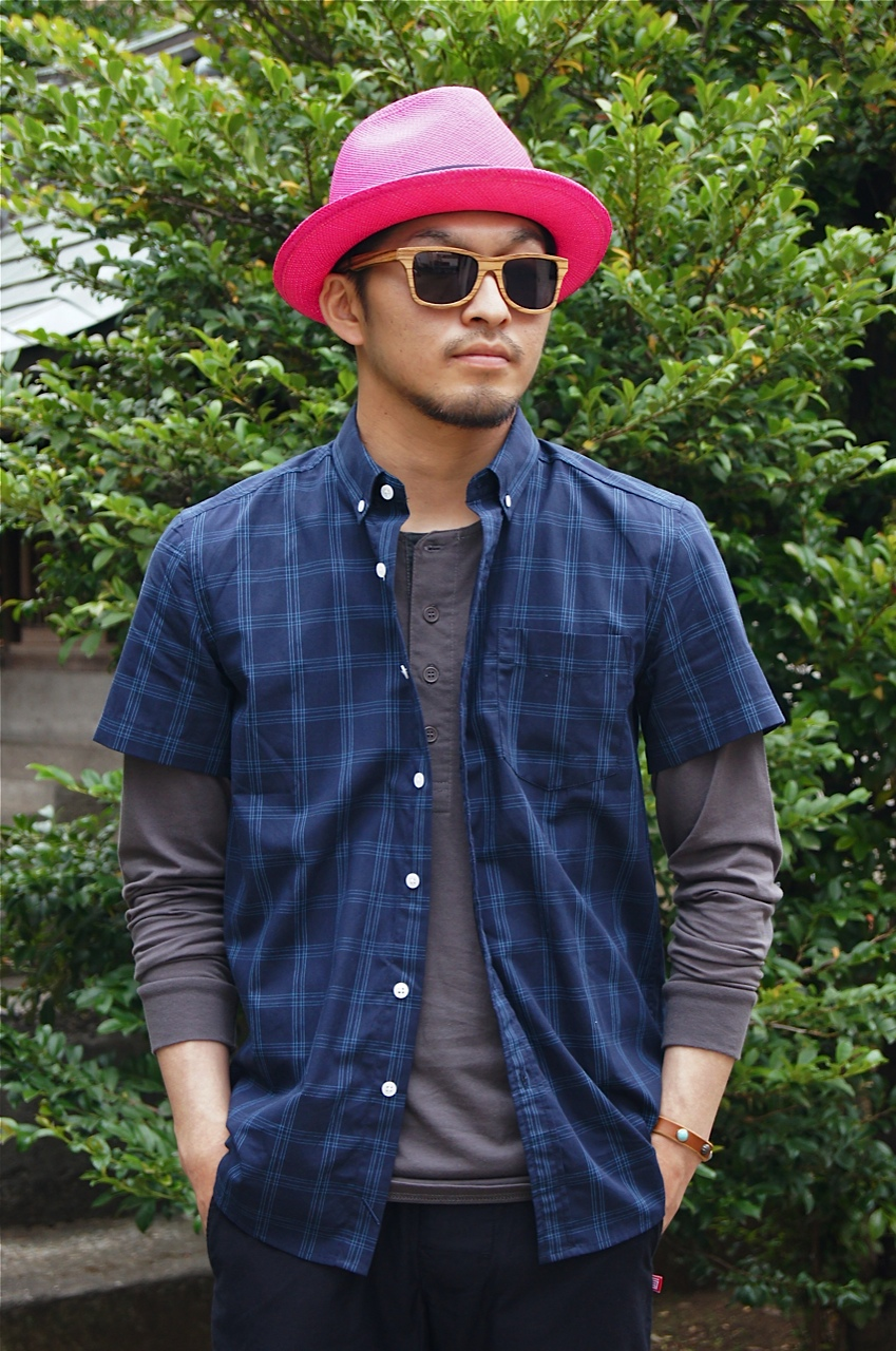 SATURDAYS SURF NYC - ESQUINA EQUAL PLAID SHIRT!!_f0020773_20372926.jpg