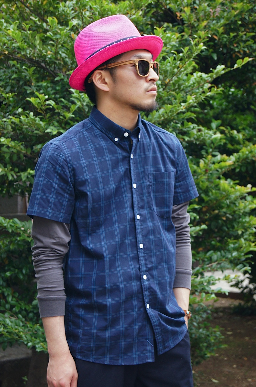 SATURDAYS SURF NYC - ESQUINA EQUAL PLAID SHIRT!!_f0020773_20402194.jpg