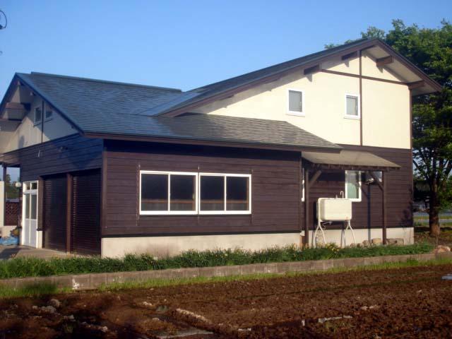 A様邸「大仙市大曲西根の家」外部メンテナンス工事_f0150893_1440383.jpg