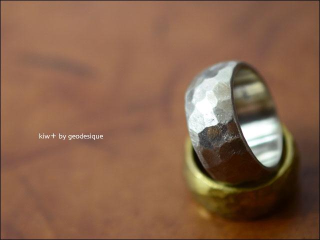 kiw+ by geodesique [キゥウプラス バイ ジィオデシック] SILVER ANT MAT SAND RING SV950 [KB-027]_f0051306_22365438.jpg