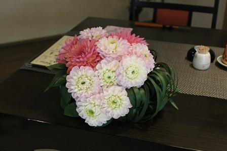 ダリアの高砂装花_d0227610_1824324.jpg