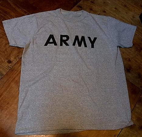 6/1(土)入荷商品!ARMY バインダーネックTシャツ!_c0144020_14562728.jpg